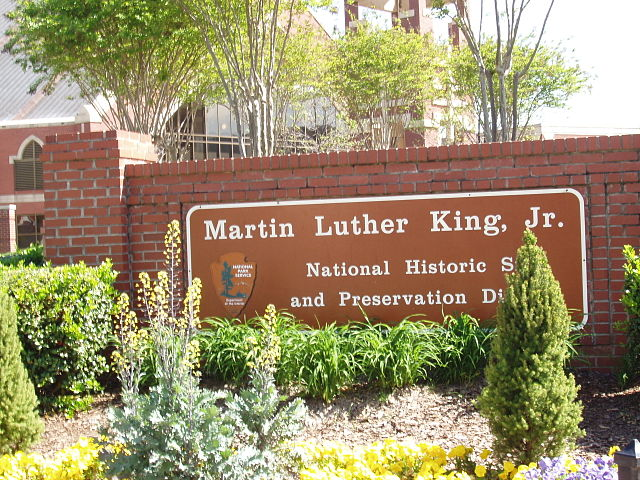 Martin Luther King sign
