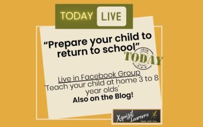 Preparing to return to school